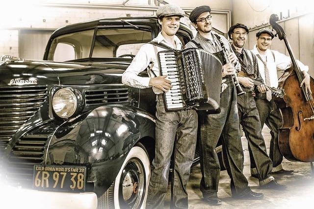 Bait Jaffe Klezmer Orchestra in Inzlingen