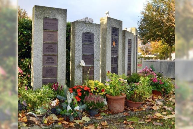 Mehr Platz für Urnen
