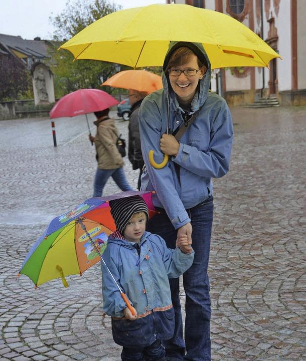 Selbst wenn es regnen sollte, wie im v...en Jahr: die Märchentage werden bunt.   | Foto: Archivfoto: Sahli