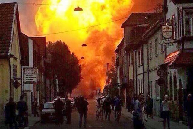 Heftige Gasexplosion schockt Ludwigshafen