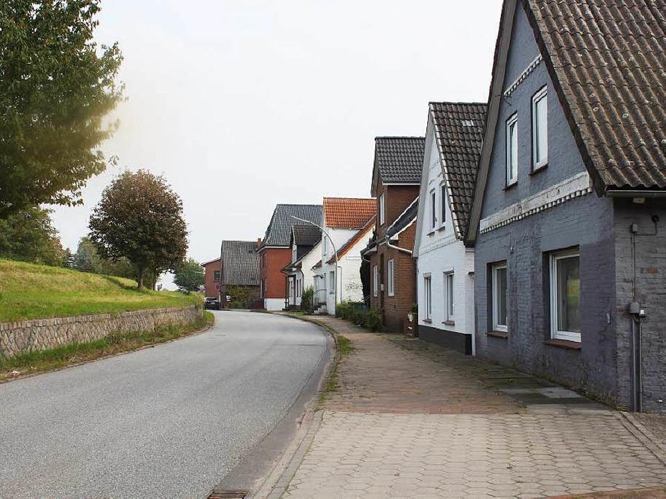 Verlassene Siedlung In Der Einflugschneise Von Hamburg Deutschland