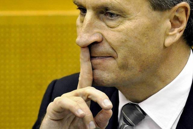 Oettinger: