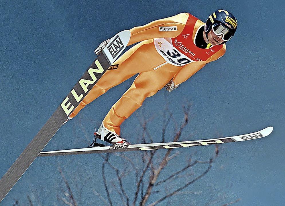 Überflieger Christoph Duffner aus Trib... beendete 2004 seine aktive Laufbahn.   | Foto: dpa