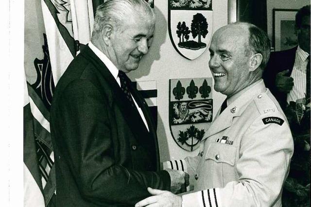 Kanadischer Colonel denkt an seine Zeit in Lahr zurück