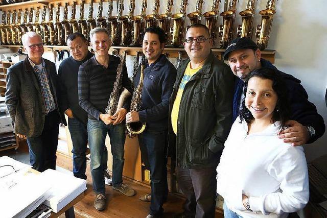 Musiker aus Alajuela gastieren in Lahr – und zum ersten Mal in Europa