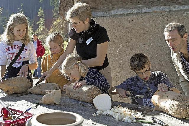 Mitmachprogramm für Kinder im Freilichtmuseum Vogtsbauernhof in Gutach