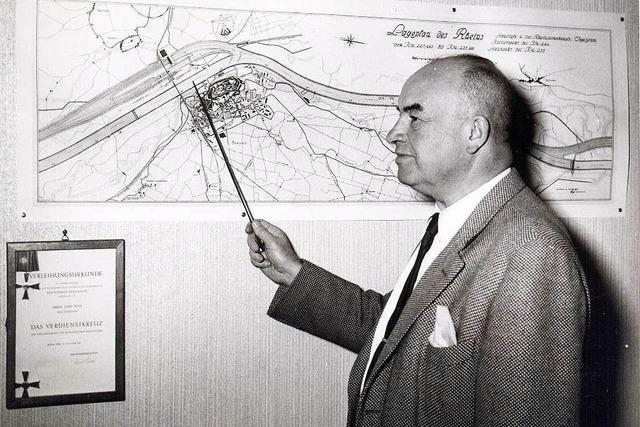 Vor 40 Jahren starb Breisachs unvergessener Bürgermeister Josef Bueb