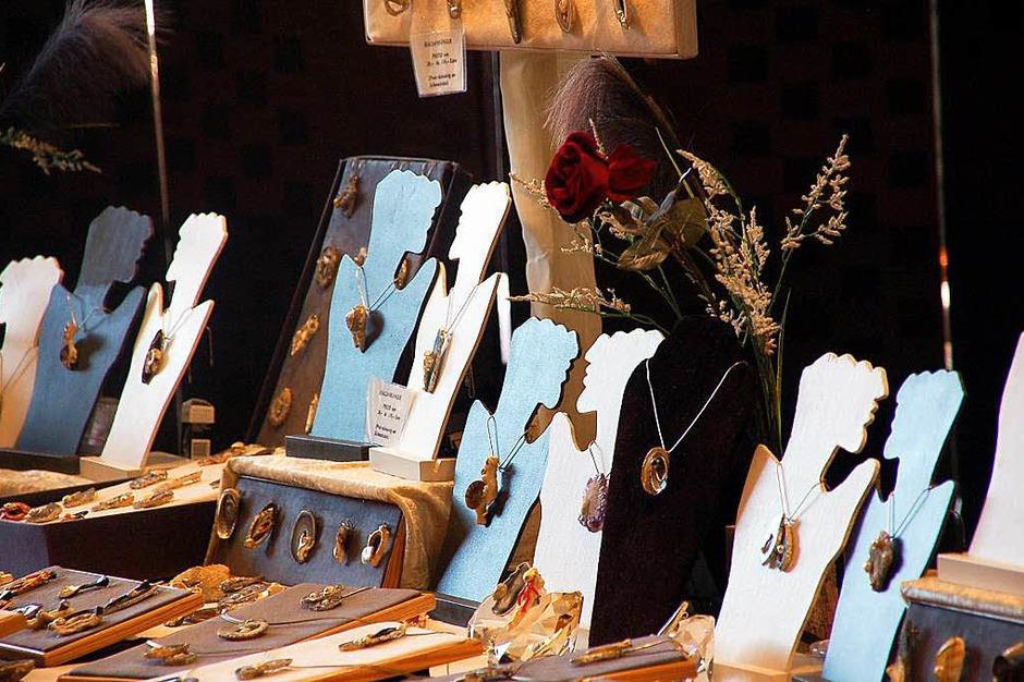 Eindrücke von der Messe Handwerk und Kunst in Bad Säckingen (Foto: Hildegard Siebold)