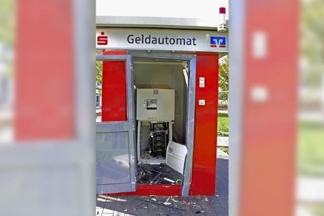 Geldautomat in Breisach aufgesprengt