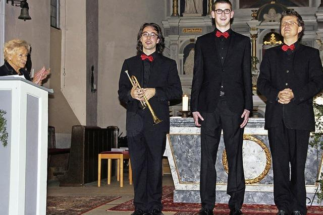 Orgelspiel und Trompetenklang in Perfektion