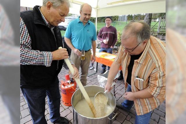 50 Liter Bier – in Handarbeit