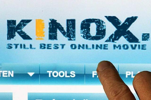 Razzia gegen das Onlineportal kinox.to