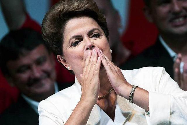 Knapper Wahlsieg in Brasilien: Rousseff bleibt Präsidentin