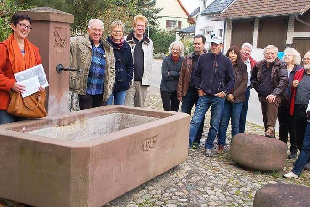 Minsler leisteten früher Frondienst an Brunnen