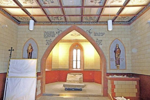 Renovierung der Sebastiankapelle teurer als geplant