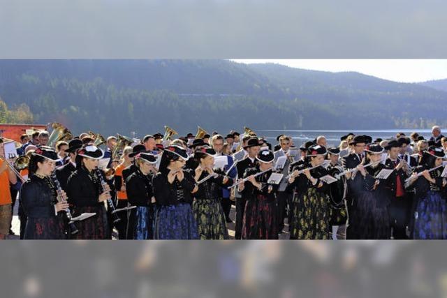 6500 Besucher für Blosmusik