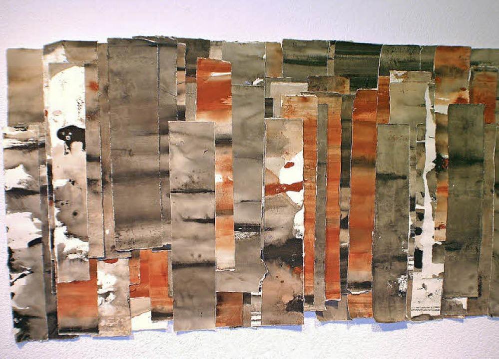 Kees gibt seinen Werken Schicht für Schicht Raum und Volumen.  | Foto: Picasa