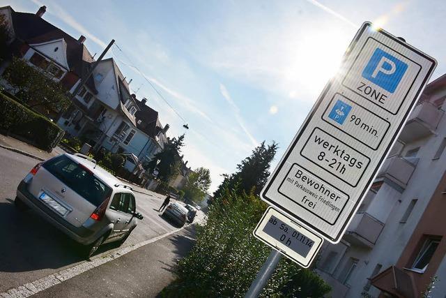 Parkausweise mäßig gefragt