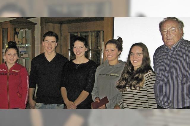 Skiverband ehrt seine Bezirksgrößen
