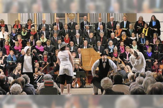 Händelkonzert gibt Jubiläum glanzvolle Note