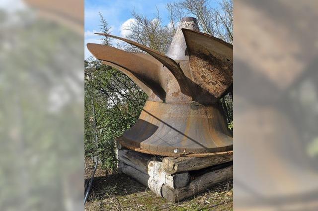 Elf Tonnen Stahl machen Geschichte