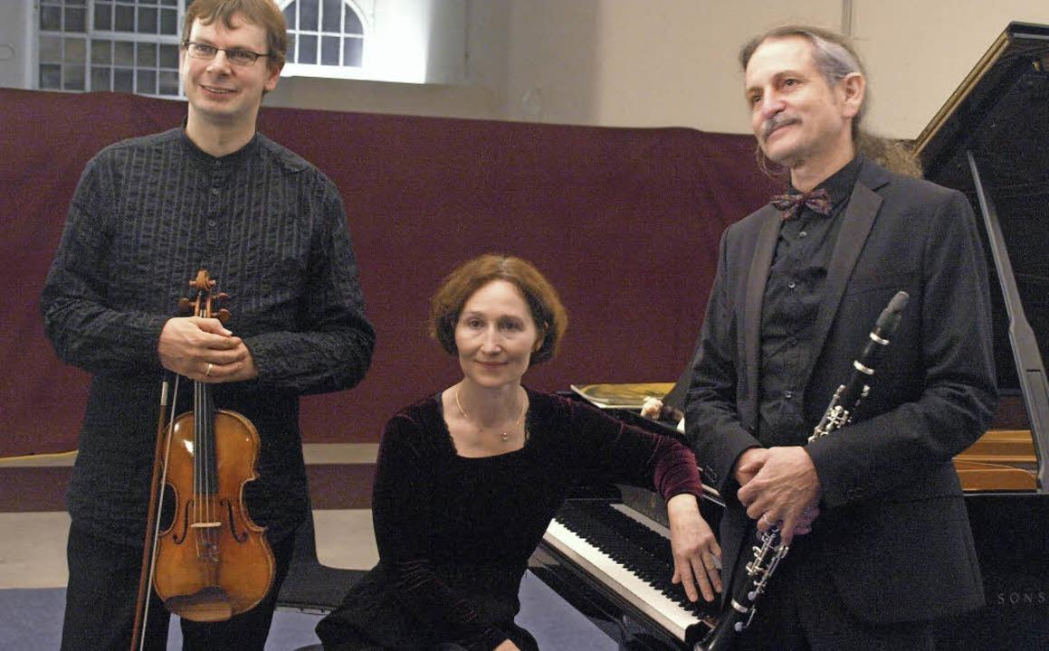 Jiri Nemecek, Andrea Kauten und Nikola... von Brahms, Bartók und Chatschaturjan  | Foto: Karin Stöckl-Steinebrunner