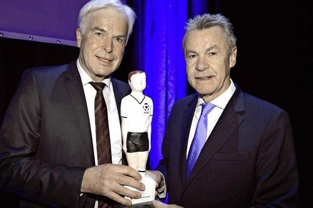 Ottmar Hitzfeld bekommt den Walther-Bensemann-Preis