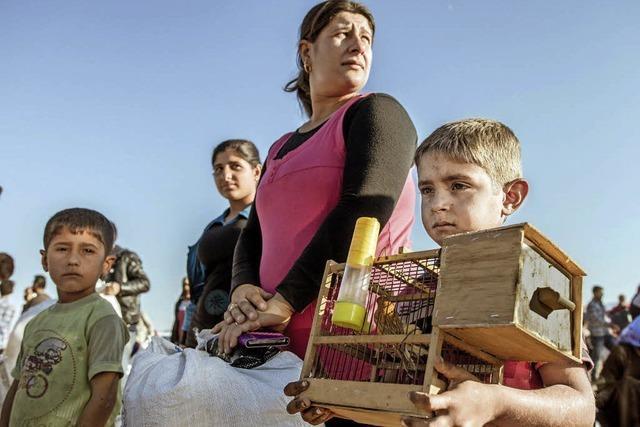 Wintereinbruch wird den Flüchtlingen zusetzen