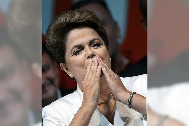 Dilma Roussef hat ihren Wahlsieg den Armen zu verdanken