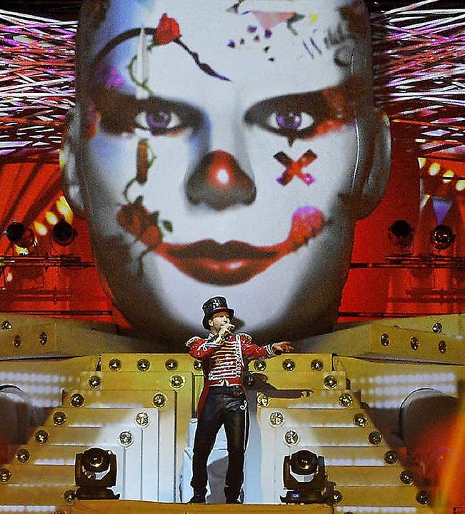 "DJ Bobo bei seiner ""Circus""-Show in Rust.     Foto: Europa-Park"