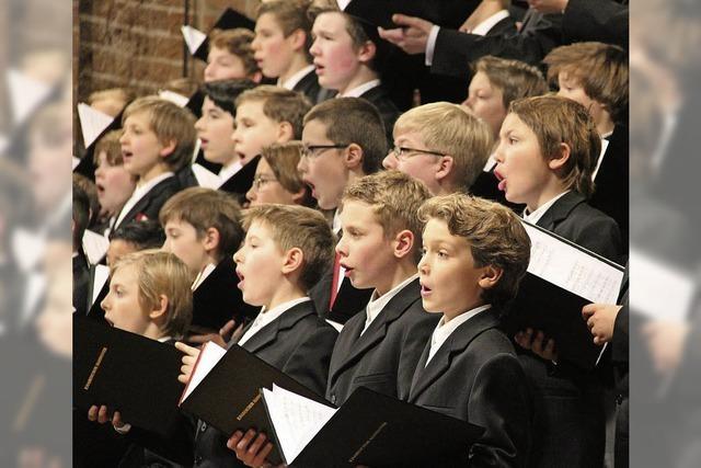 Knabenchor Hannover singt in Bad Säckingen