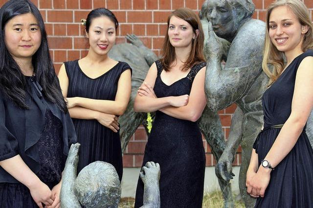 Althea-Quartett konzertiert in Wehr