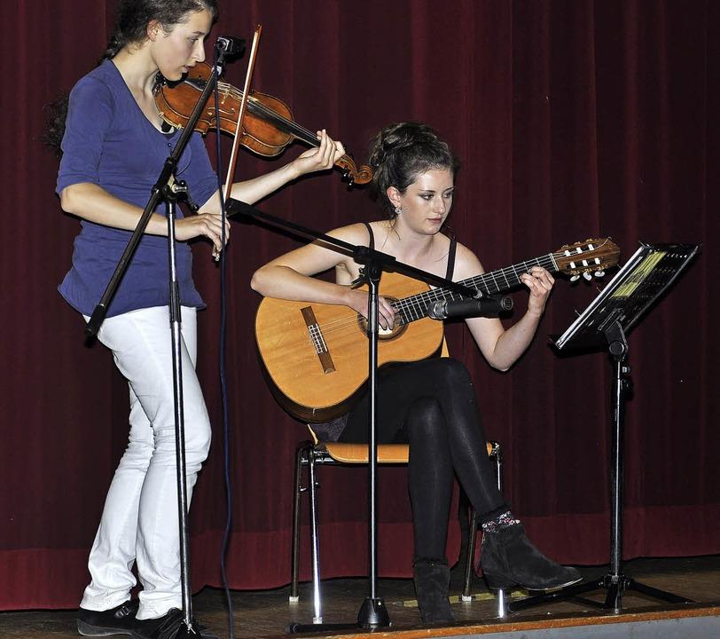 Der deutsch-englische Musikbeitrag von...Rhein und Zoe Barnett aus Bognor Regis  | Foto: privat