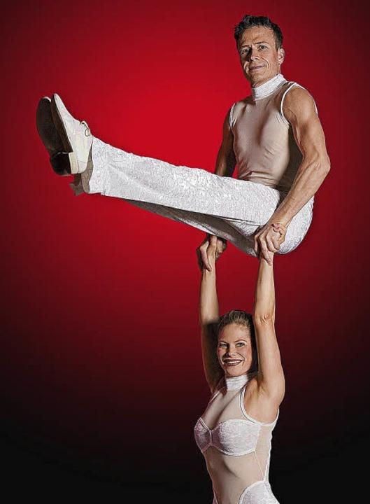 Im Gleichgewicht: Das Duo Trux  | Foto: Veranstalter
