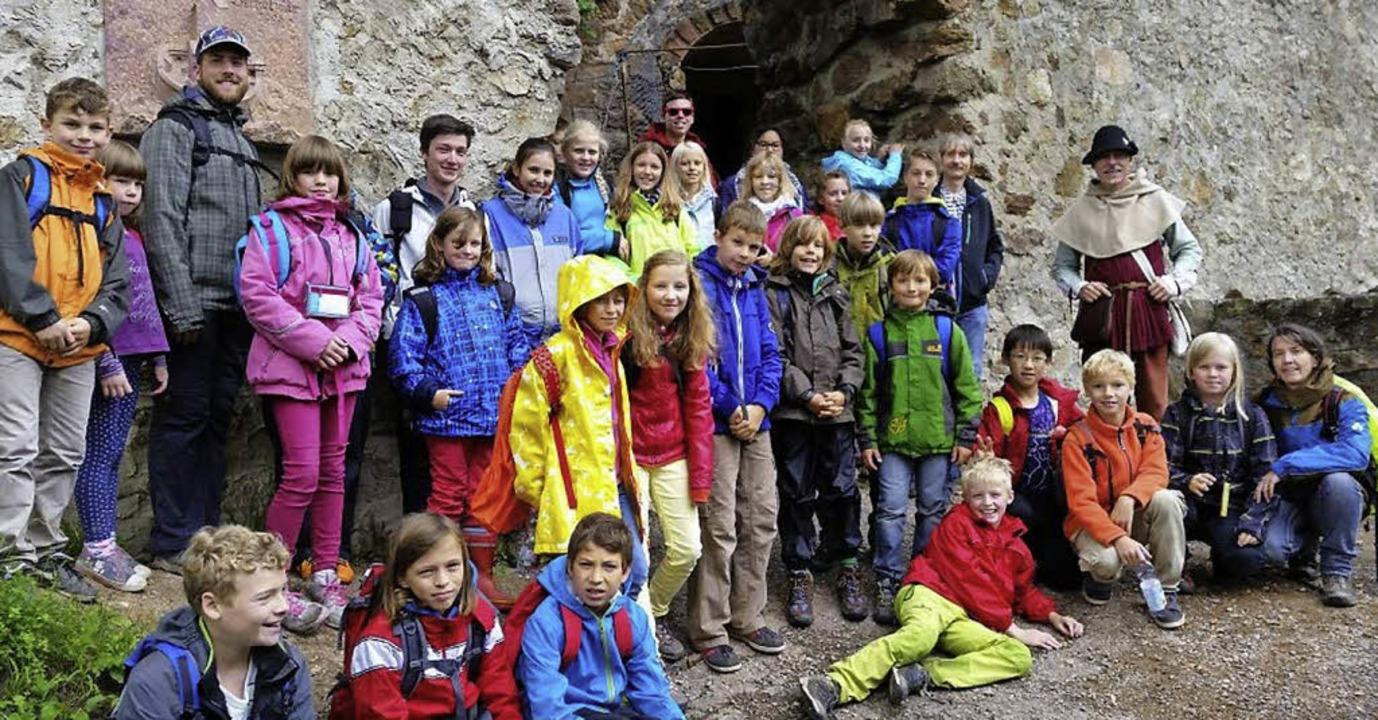 Reise ins Mittelalter: Kinder der Seelsorgeeinheit Weil am Rhein   | Foto: zVg