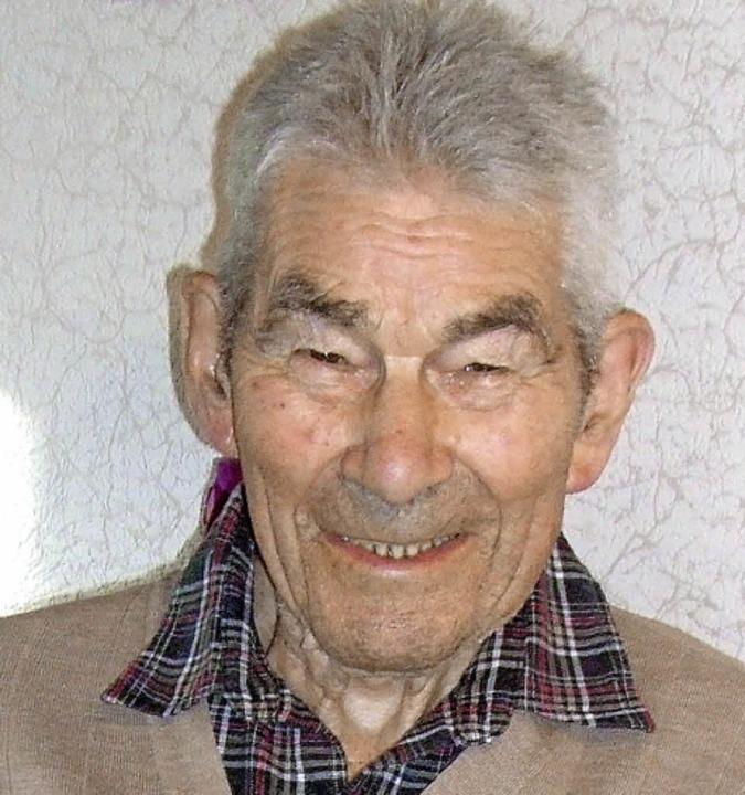 Hermann Drescher wird heute 95 Jahre alt.  | Foto: Joachim Frommherz