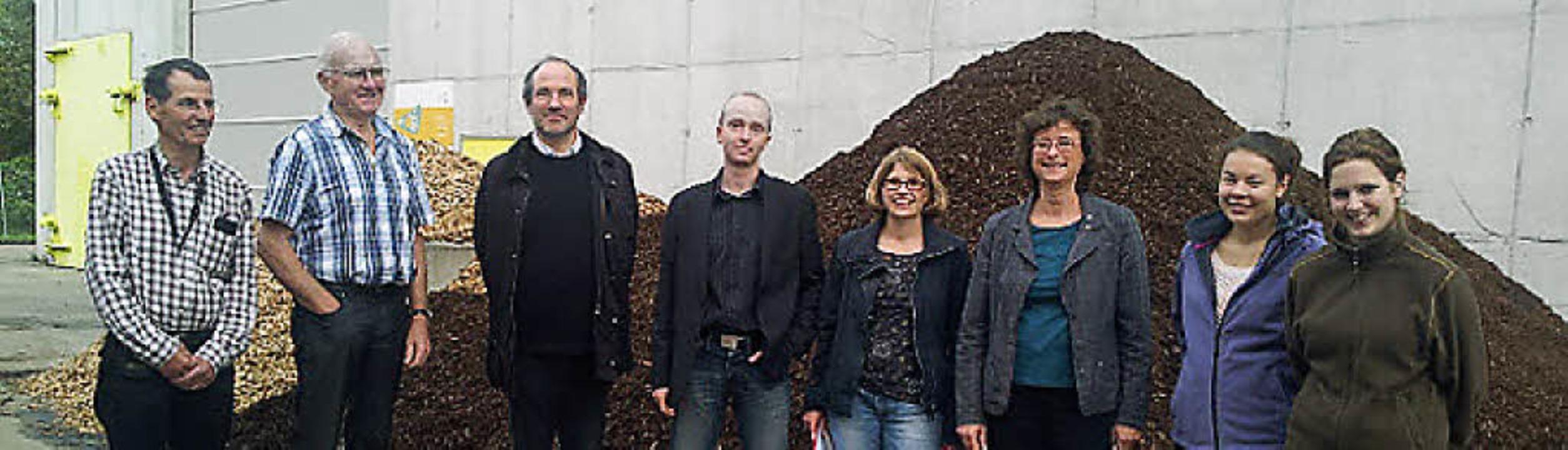Exkursion zur Biomassevergärungsanlage in Pratteln.   | Foto: agendagruppe