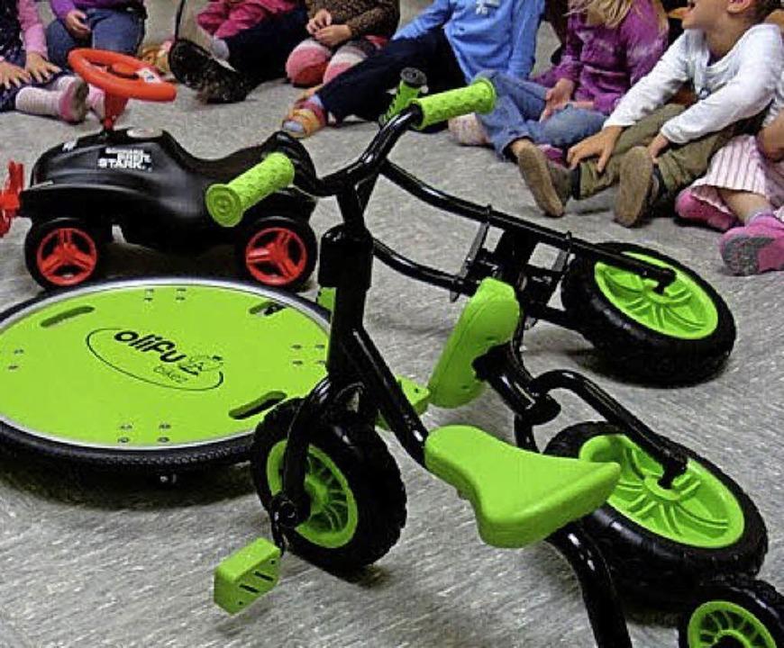Neue Fahrzeuge hat der Kindergarten St. Martin.   | Foto: kindergarten