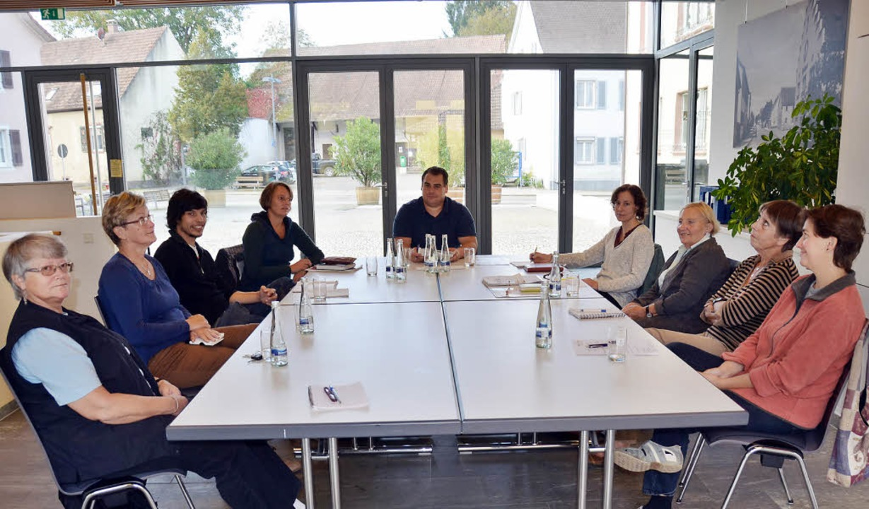 "Der ""Runde Tisch Integration&#82...üchtlingen in der Gemeinde Buggingen.   | Foto: Sigrid Umiger"