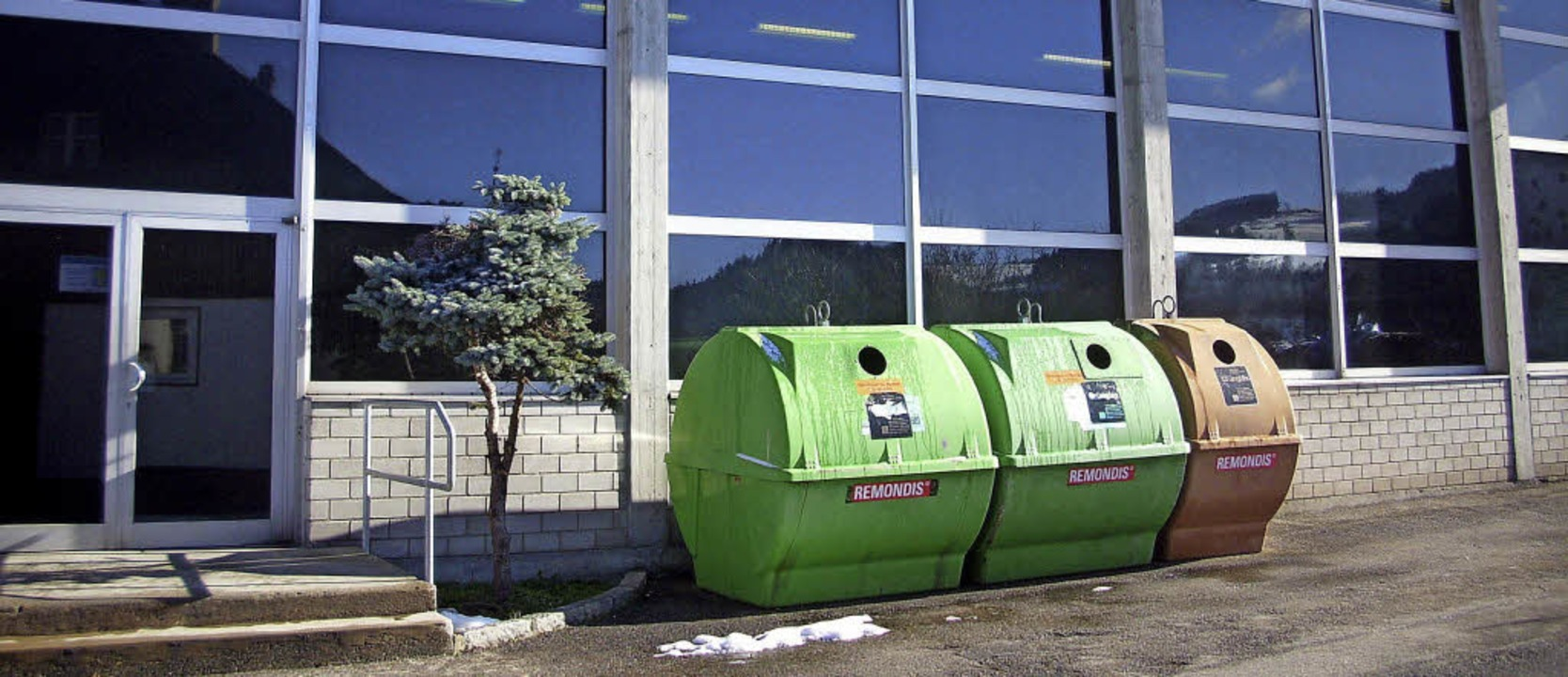 Die Angenbachtalhalle in Häg wird  auch einer gründlichen Sanierung unterzogen.     Foto: Rümmele