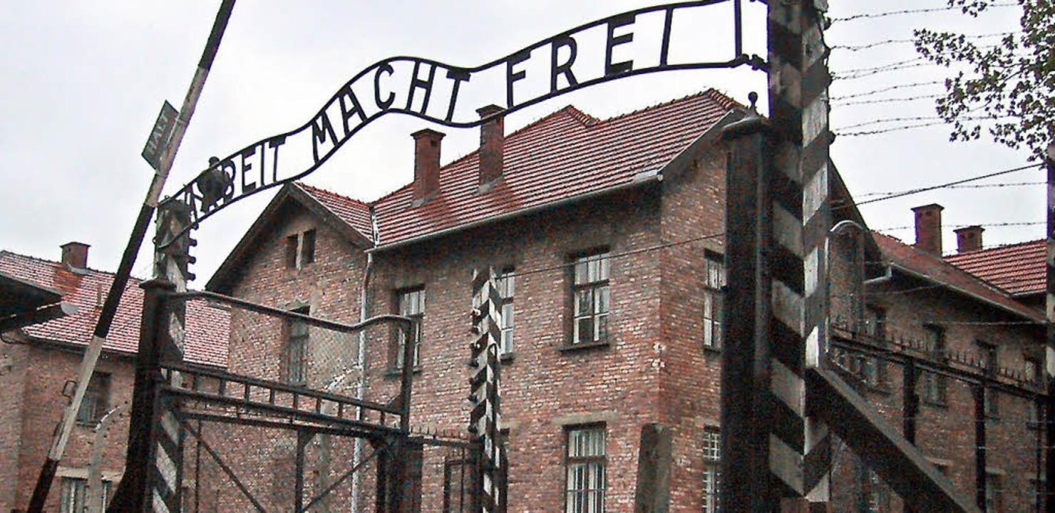 Die Breisacher Schüler besuchten auch ...maligen Konzentrationslager Auschwitz.  | Foto: DPA
