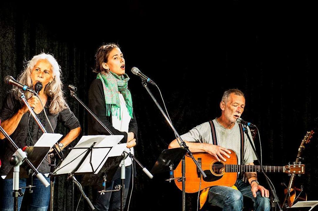 Für die Hubers gehören gemeinsame Auftritte zur Familientradition.    Foto: Daniel Schoenen