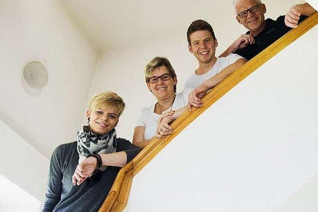 Familie Schulz öffnet in Notlagen ihre Tür