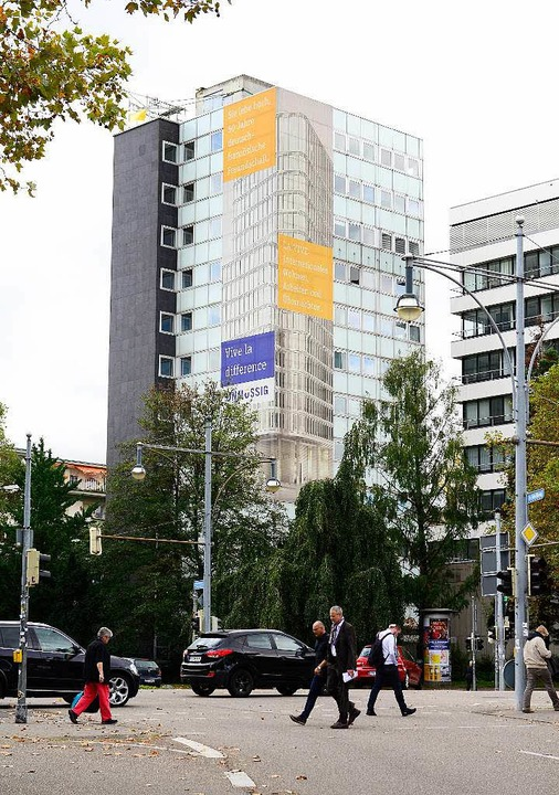 Das bestehende Hochhaus<ppp></ppp>    Foto: Ingo Schneider