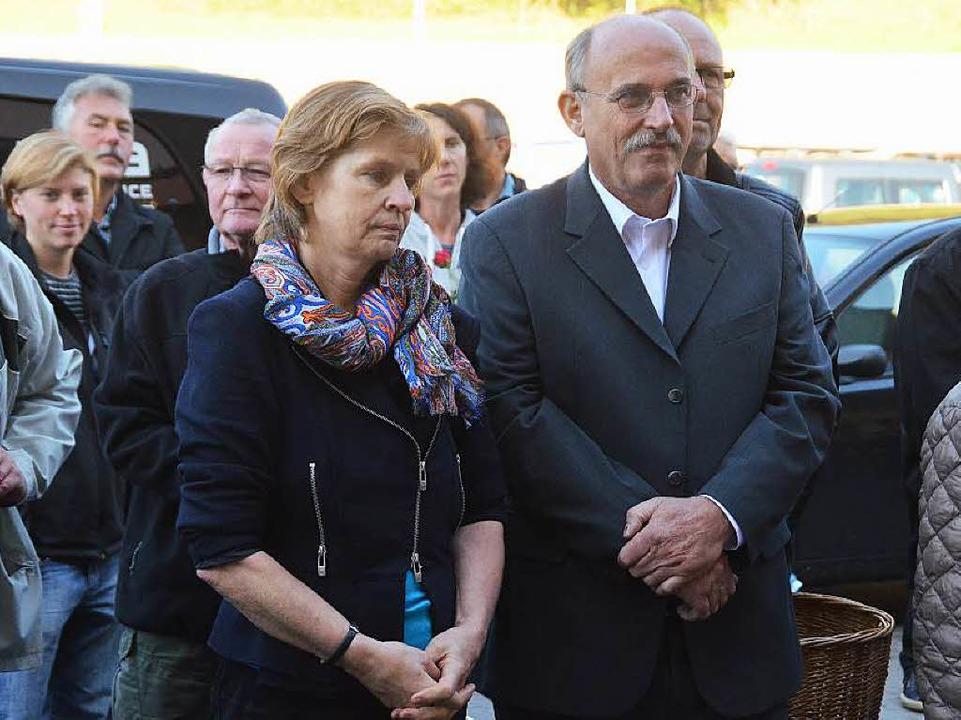 Spender IV: Petra Wagner und  Ulrich W... Tekuwa ebenfalls 2000 Euro zu spenden  | Foto: Peter Gerigk