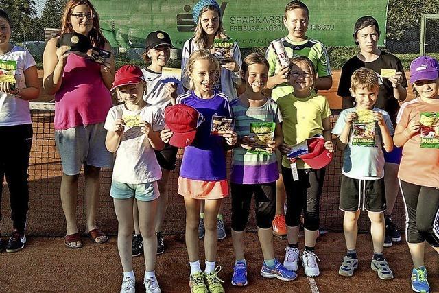 Tennisnachwuchs ermittelt Meister