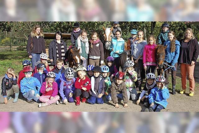 Reiterferien in der Stadt