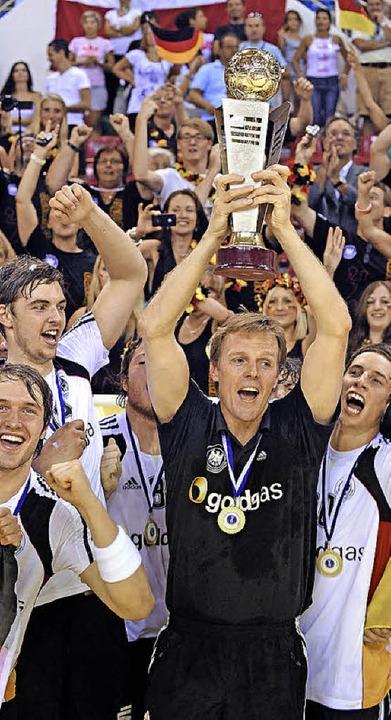 Martin Heuberger beim erfolgreichen WM-Finale 2011 mit den deutschen Junioren  | Foto: Michael Heuberger