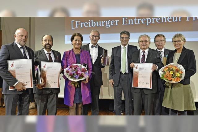 Stadt verleiht Entrepreneur-Preis der Wirtschaftsförderung