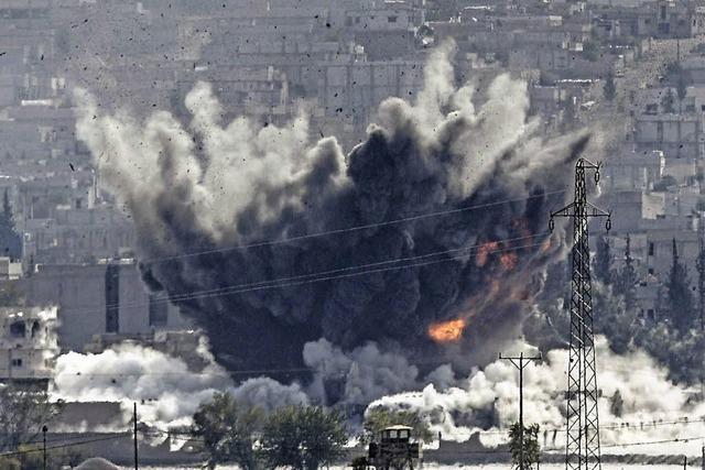 Reportage über den verzweifelten Kampf der Kurden um Kobane